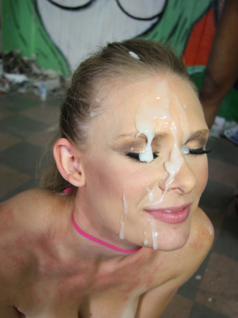 Huge facial cumshot movies
