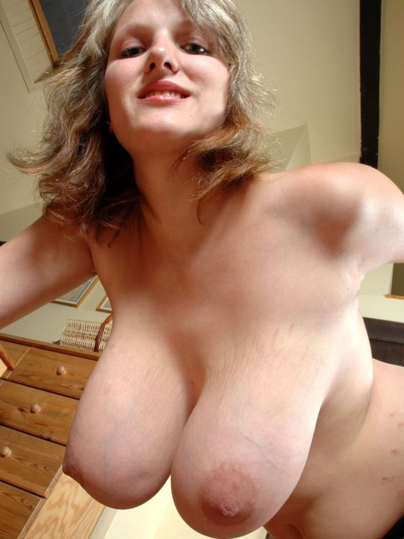 Really big natural tits