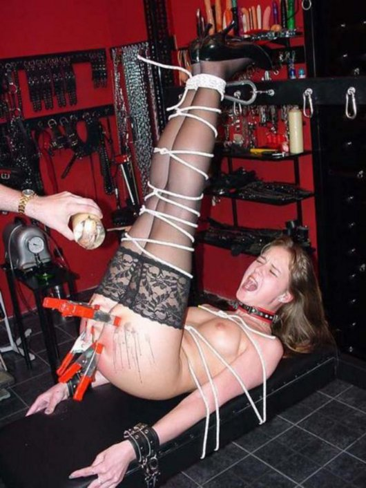 Bondage sex video clips