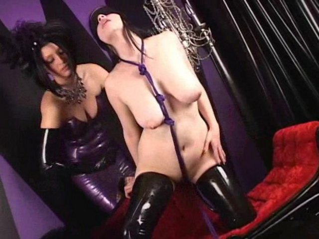 british latex Mistress video