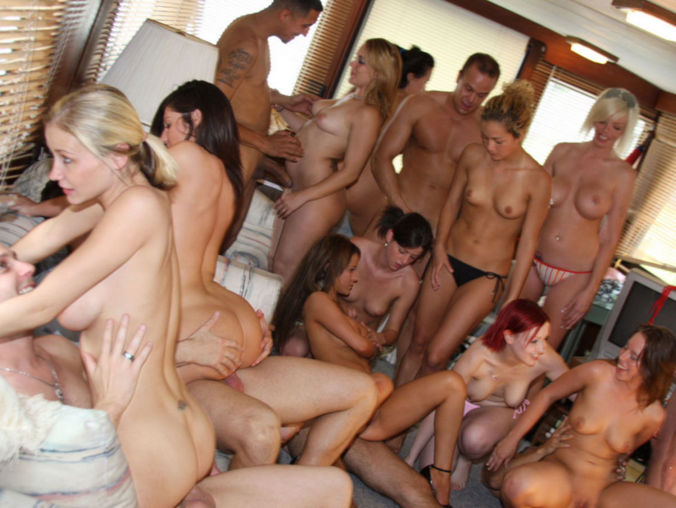 her first group sex