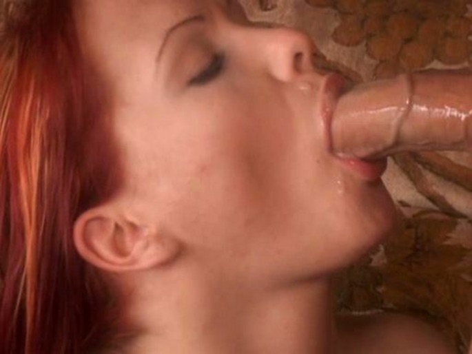 red head penis sucking