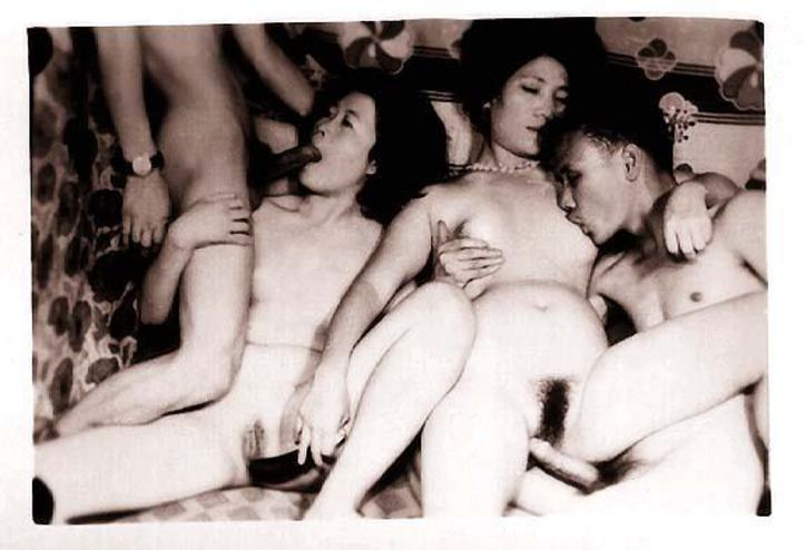 interracial gangbang cum shoot