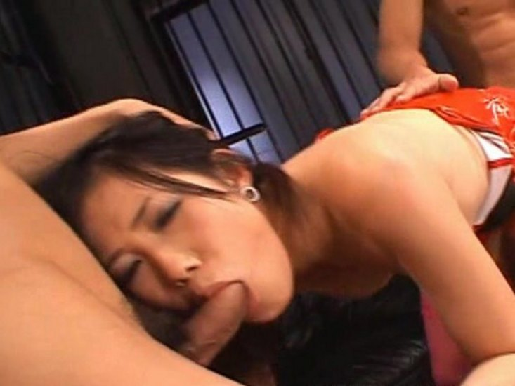 Slutload wife hubby blowjob
