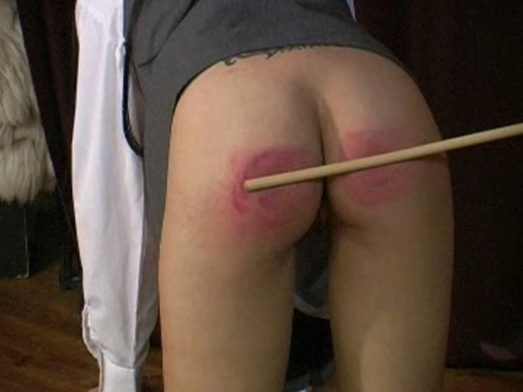 Naughty women caning